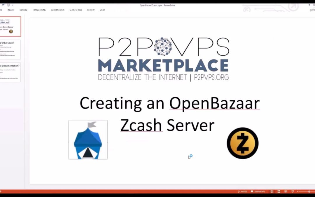 Creating an OpenBazaar Zcash Server