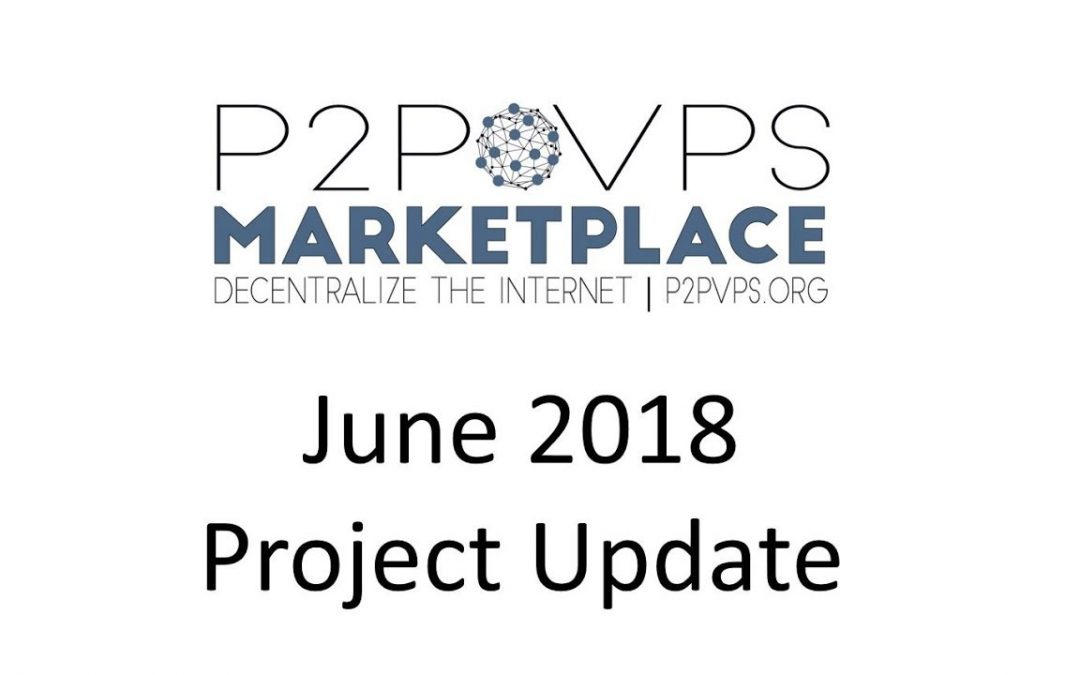 June 2018 Project Update